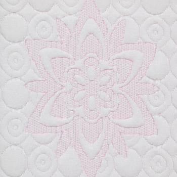 D2864G129 圆机布 涤纶低弹 低弹光丝 光丝色纱 粉红色