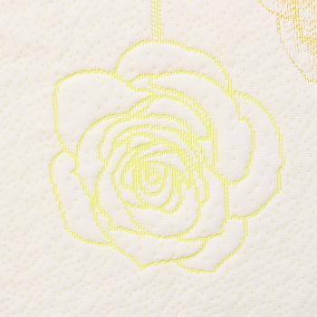 D2611G176-175 床垫圆机布 涤纶低弹 低弹光丝 光丝色纱 黄色
